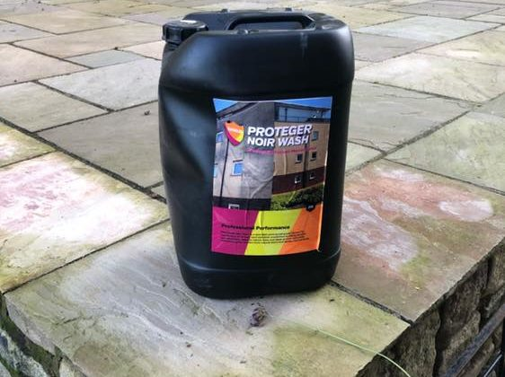 Lovely sunny day out cleaning York Stone with Noir Wash for a client. A good application of Noirwash to remove all the algae and lichen (or patio black spot as it's commonly known) then detailing work cleaning the #sandstone walls with Doff Super Heated Steam For any external cleaning requirements please call us direct on […]